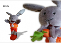 HAND PUPPET RABBIT