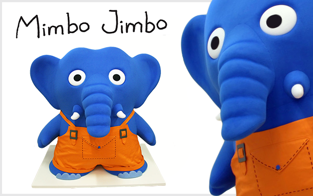 INNOVATIONS SELF STANDING ELEPHANT MIMBO JIMBO