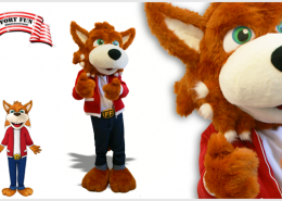 MASCOT FUNNY FOX
