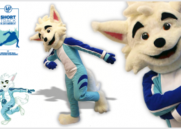 MASCOT SNOW FOX
