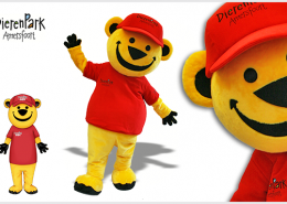 MASCOT YELLOW BEAR