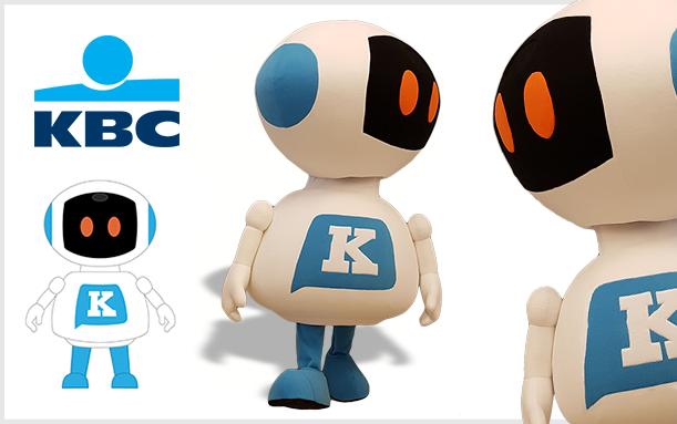 MASKOTA ROBOT KBC