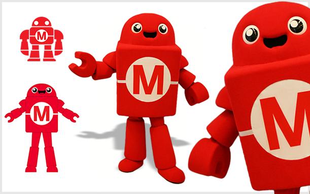 MASCOT MAKER MEDIA ROBOT