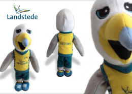 PLUSH TOY BIRD LANDSTEDE
