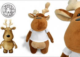 PLUSH TOY DEER XAVIER