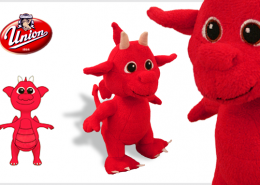 PLUSH TOY DRAGON UNION