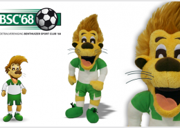 PLUSH TOY LION BUD