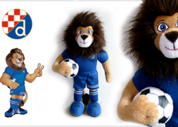PLUSH TOY LION DINAMO PLAVKO