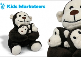PLUSH TOY MONKEY MARKETEERS