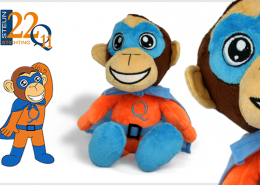 PLUSH TOY MONKEY Q
