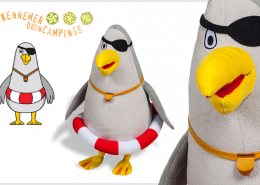 PLUSH TOY SEAGULL