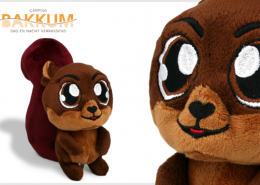 PLUSH TOY SQUIRREL BAKKUM