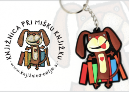 PROMOTIONAL 2D KEYCHAIN MOUSE