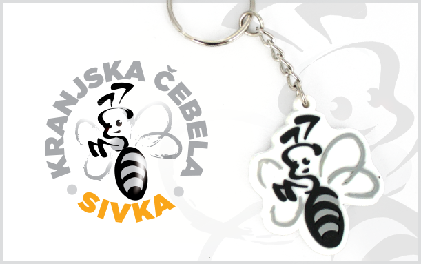 PROMOTIONAL 2D KEYCHAIN SIVKA