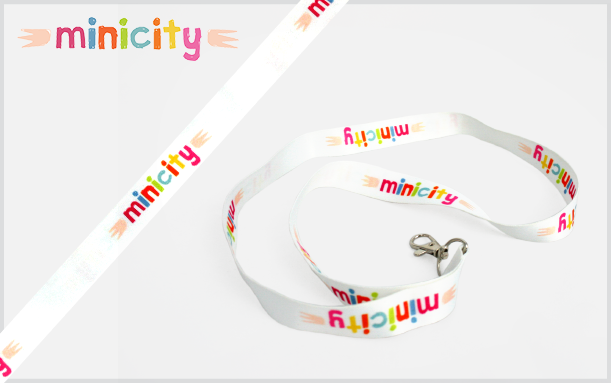 PROMOTIONAL LANYARD MINI CITY