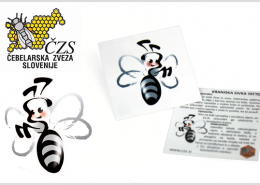 PROMOTIONAL TATTOO BEE SIVKA