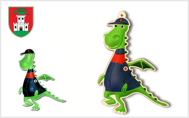 Privjesak 2D MOL Dinozaver