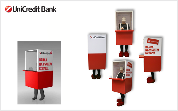 INNOVATIONS MASCOT ATM MACHINE