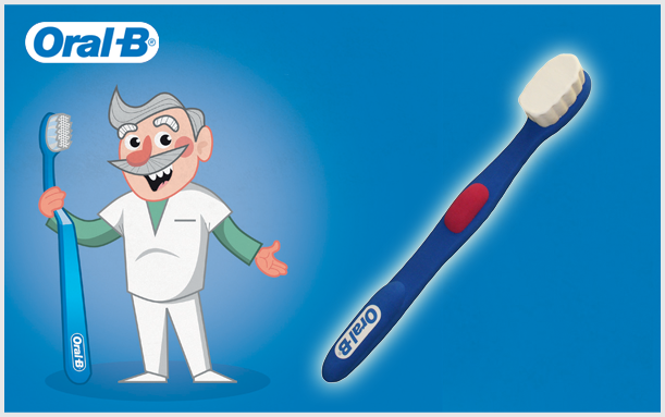 INNOVATIONS 3D GIANT ORAL B TOOTH BRUSH