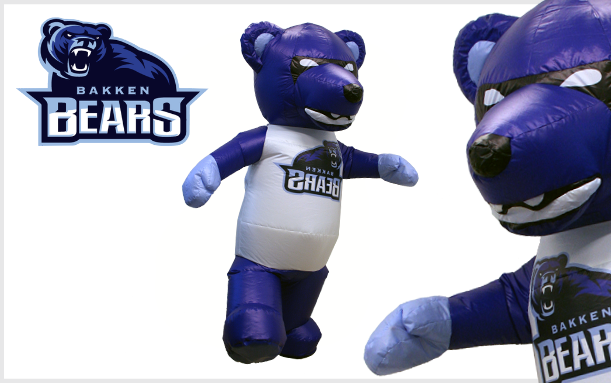 INNOVATIONS INFLATABLE BLUE BEAR