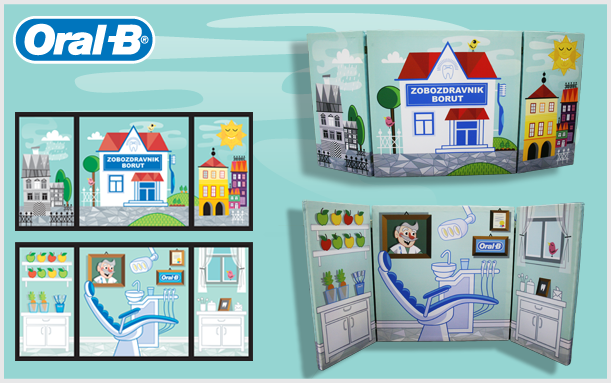 INNOVATIONS ORAL B PUPPET THEATRE
