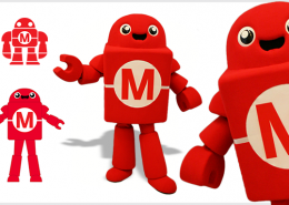 MASKOTA MAKER MEDIA ROBOT