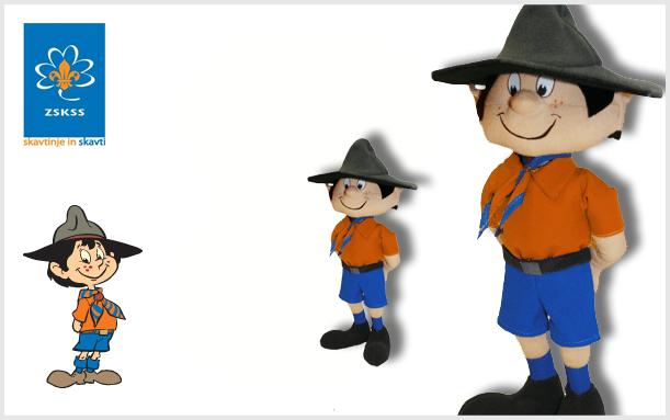 Plush toy Scout