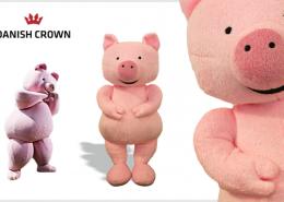 PLUSH TOY PIG